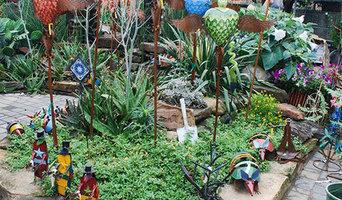 Arbor Gate Beds - Art in the Garden 2014
