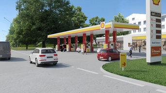 АЗС Shell в городе Воронеж