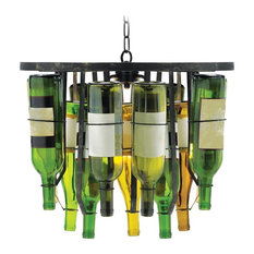 2-Light Collectors Pendant in Black