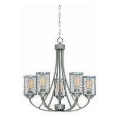 Millennium Lighting 3265 Akron 5 Light Chandelier