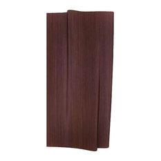 Haza Wall Panel   W: 47.2''; D: 5.9''; H:94.5'', Walnut Wood