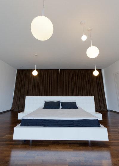 Современный Спальня by Anna Shemuratova Interiors