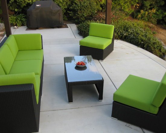 Patio Furniture With Custom Sunbrella Cushions