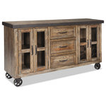 Intercon - Intercon Furniture Taos Sideboard in Canyon Brown - Taos Collection by Intercon Furniture