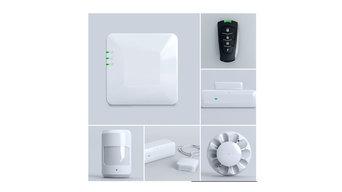 Самый простой комплект системы безопасности и автоматизации