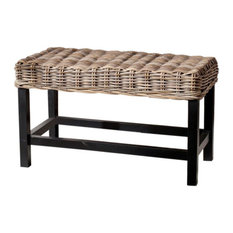 Omari Wicker Bench