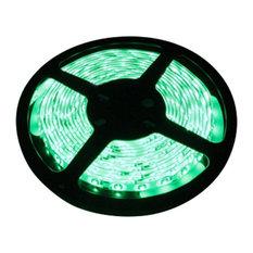 Green Super Bright Flexible 16' LED Light Strip, Reel Kit