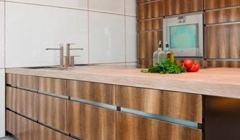 Salmon Leather Kitchens
