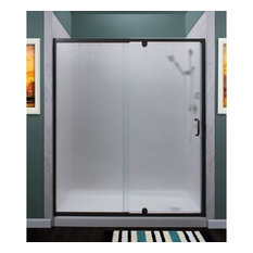 Miseno MSDR6069 Purify Hinged Shower Door, Oil Rubbed Bronze