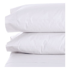 Bamboo Feel 1800 Count Soft Pillow Case Set Queen/Standard or King Set of 2, Whi