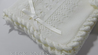 Baby Blankets Designed by KFGK KNITS