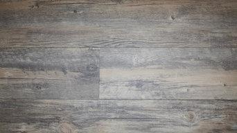 Barnyard Grey Wood Plastic Composite - Waterproof Laminate