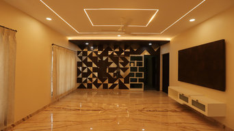 Residential Interiors for Mr.Thangavel in Coimbatore-Tamilnadu