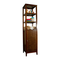 Proman Products Home Decor Spa Bath Tower With Cabinet