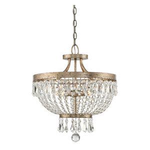 Savoy House Europe Claiborne Convertible Semi-Flush Lamp