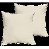Corrigan Sunbrella Outdoor Square Pillow, Set of 2, Canvas Blue, 18x18