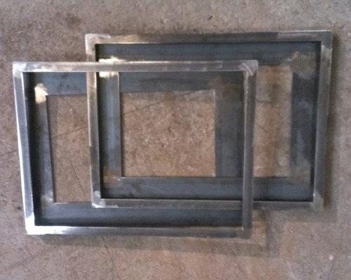 napa valley custom metal steel gallery frames products