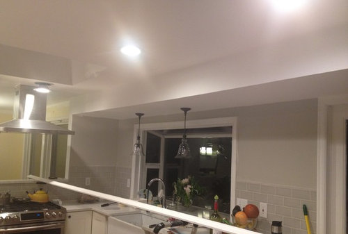 Soffit: paint to match walls or ceiling?