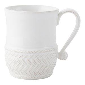 Juliska Acanthus Whitewash Mug Set of 4