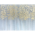 "Bayland Collection - ""Golden Forest"" Hand Painted Oil Canvas Art - *Hand-painted:100% hand-painted high quality oil paintings by professional artist. As each painting is 100% hand-painted, actual paintings may be slightly different from the product image due to different brand of monitors."