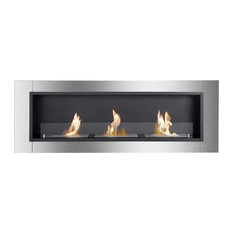 Ignis Bio Ethanol Fireplace Ardella with Safety Glass