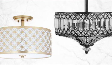 Up to 60% Off Flush-Mount Lighting