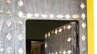 Restauración puerta