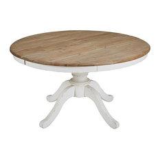 Tavolo rotondo allungabile per sala da pranzo L.140 cm Provence