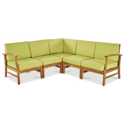 Contemporary Outdoor Sofas by GDFStudio