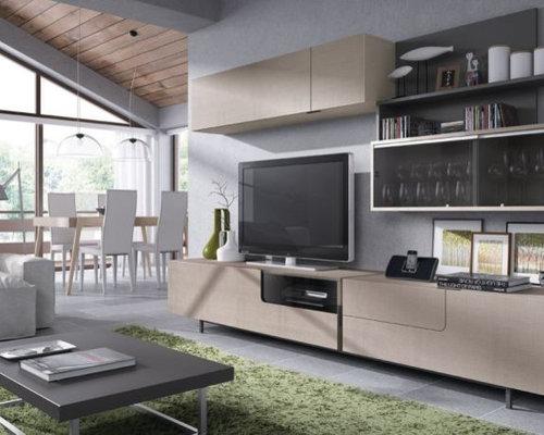 Mueble de salón estilo nórdico