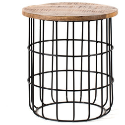 Industrial Side Tables And End Tables by Madeleine Home Inc.