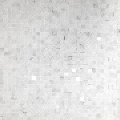 "Marble 1/4"" x 1/4"" Mosaic - Tile"