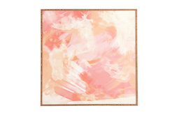 Chelsea Victoria Flamingo Watercolor Framed Wall Art, Small