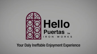 Company Highlight Video by Hello Puertas Iron Works