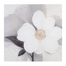 Madison Park Midday Bloom Canvas With Hand Embellishment
