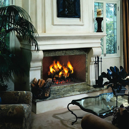 Indoor Wood Fireplaces