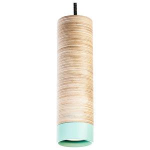 Zyla Pendant Lamp, Mint and Grey