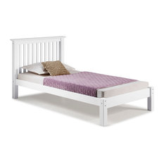 Barcelona Twin Bed, White