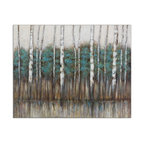 "Uttermost ""Edge of the Forest"" Canvas Art, 51""x40"""