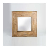 Barcelona Square Mirror in Mango Wood