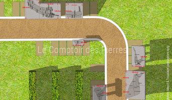 Tables d'orientation en pierre de Bourgogne
