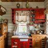 Просто фото: Кухня на даче — 30 решений