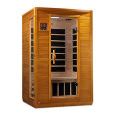 Dynamic 2 Person Low EMF Far Infrared Carbon Heater Sauna