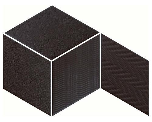 Rhombus Black - Wall & Floor Tiles