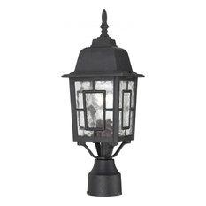 "Nuvo Lighting 60/4929 Banyon 1 Light 6-1/8""W Landscape Single - Textured Black"