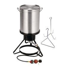 Atlas Supply Chain - Propane Turkey Fryer - Outdoor Cookers & Fryers