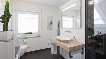 So sieht eine intelligente Raumaufteilung im Bad aus.