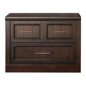 Parker House Stanford Library 2 Drawer Lateral File, Sherry