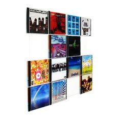 moderne cd dvd regale cd st nder und dvd schrank designs houzz. Black Bedroom Furniture Sets. Home Design Ideas
