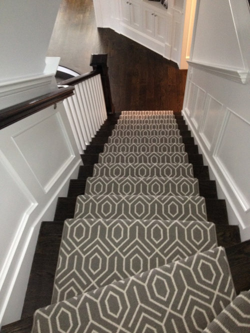 Delightful Geometric Stair Runner   Products
